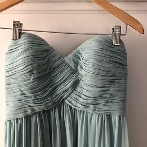 Donna Morgan Collection Strapless Dress